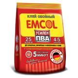 Клей обойный для всех типов обоев Emcol СИЛА ПВА