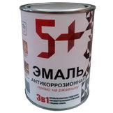 Грунт-эмаль по ржавчине 3 в 1 алкидная 0,9 кг, 1,9 кг, 2,7 кг